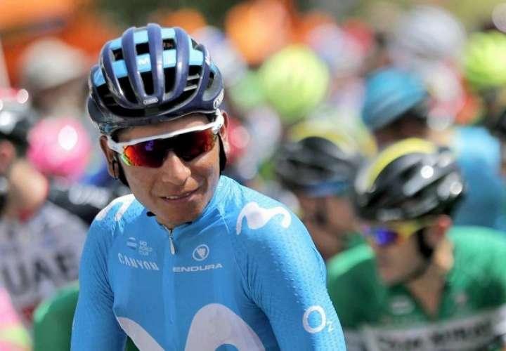 Quintana aseguró que ha completado bien la primera semana de competición. Foto: EFE