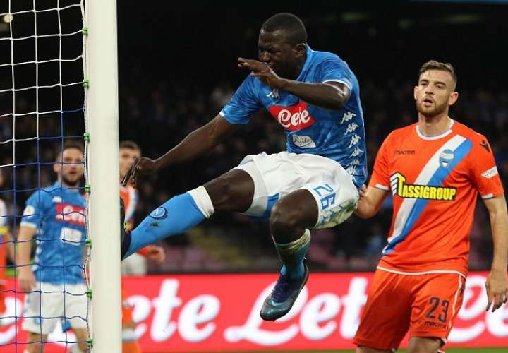 Kalidou Koulibaly, defensor del Napoli./ AP