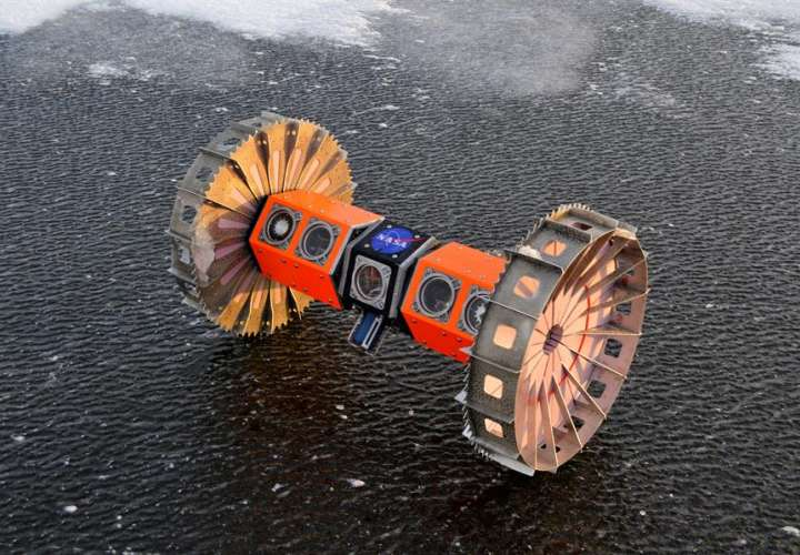 NASA probará un robot en la Antártida con miras a buscar vida extraterrestre