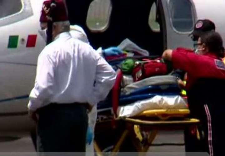 Emanuel viaja con rumbo a  EEUU para recibir atención médica por quemaduras