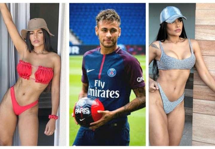 Neymar Jr. y Flayslane