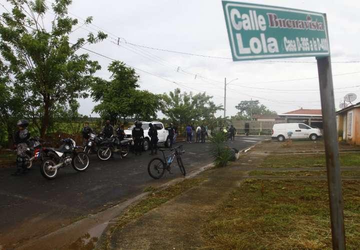 Escena del crimen. Foto: Edwards Santos