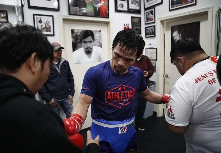 Pacquiao: 'No todos los boxeadores que llegan a los 40 años pueden ser como yo'