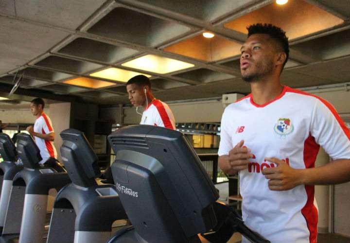 Selección de Panamá entrenó hoy jueves antes de viajar a Filadelfia