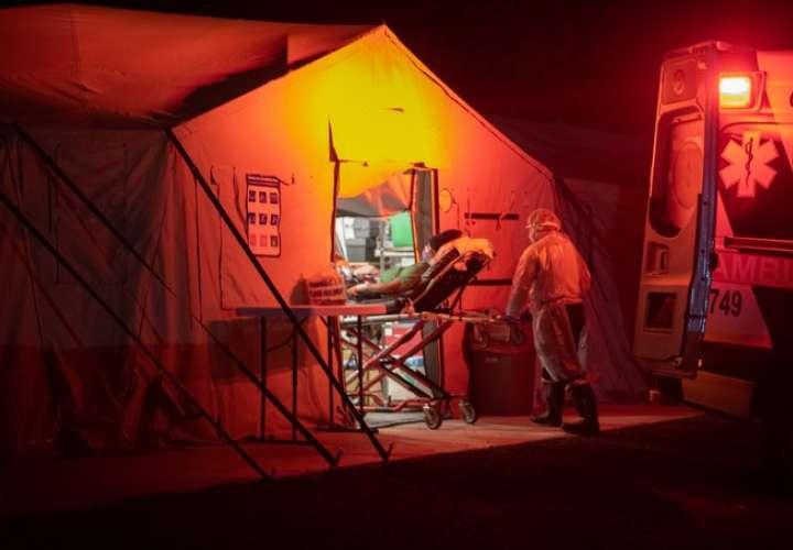 Hospital campaña de La Chorrera recibe primeros pacientes Covid-19
