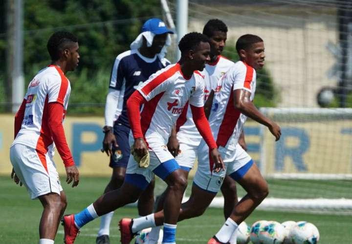 Panamá entrenó en Filadelfia previo a su partido ante Jamaica