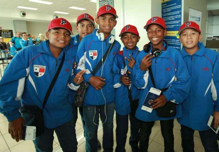 Equipo de béisbol infantil de Panamá viaja a Serie Mundial de Williamsport