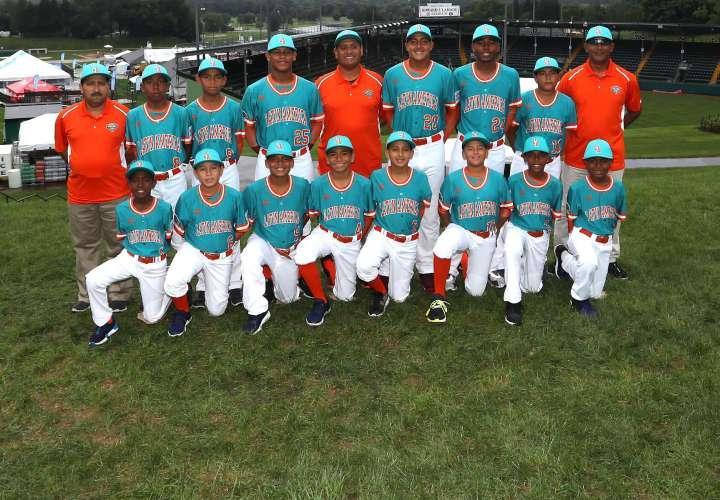 El equipo de Panamá que participa en la Serie Mundial de Pequeñas Ligas. Foto: Little League