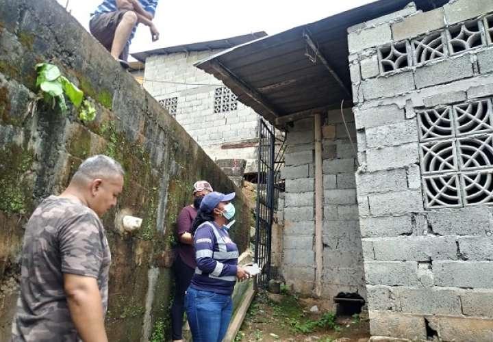 Atienden colapsos de muros, derrumbe y daños en San Miguelito y Chepo