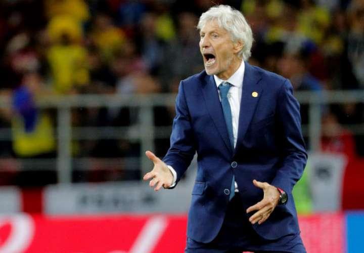 El técnico de la selección colombiana, el argentino José Néstor Pékerman. Foto: EFE