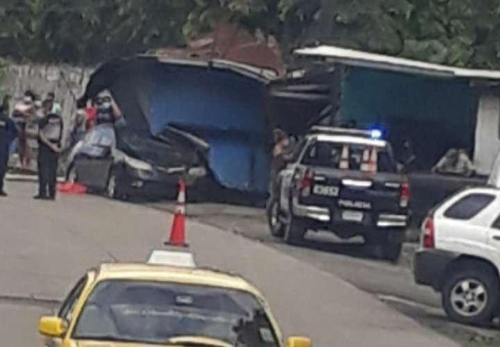 Aparatoso accidente en el Valle de San Isidro deja una persona herida