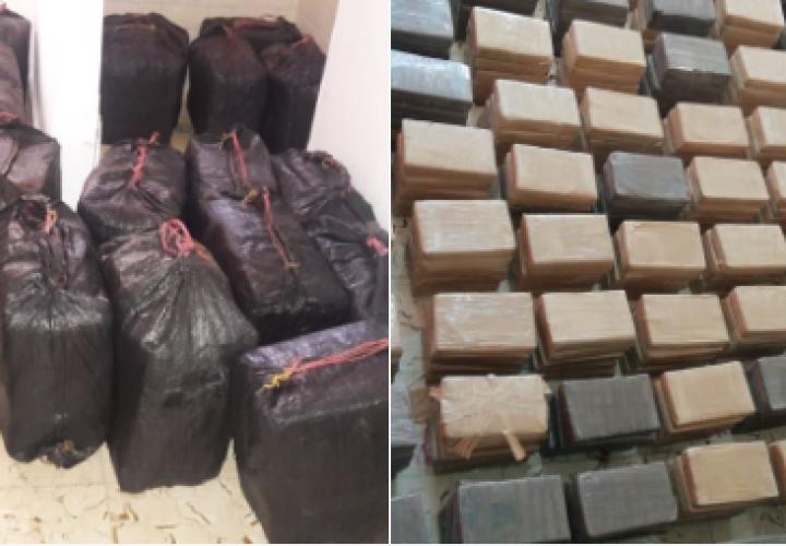 Decomisan 600 paquetes de droga en el baño de una casa en Chame