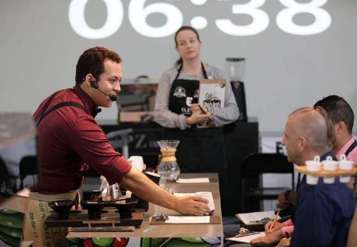 Inicia competencia Internacional de Café