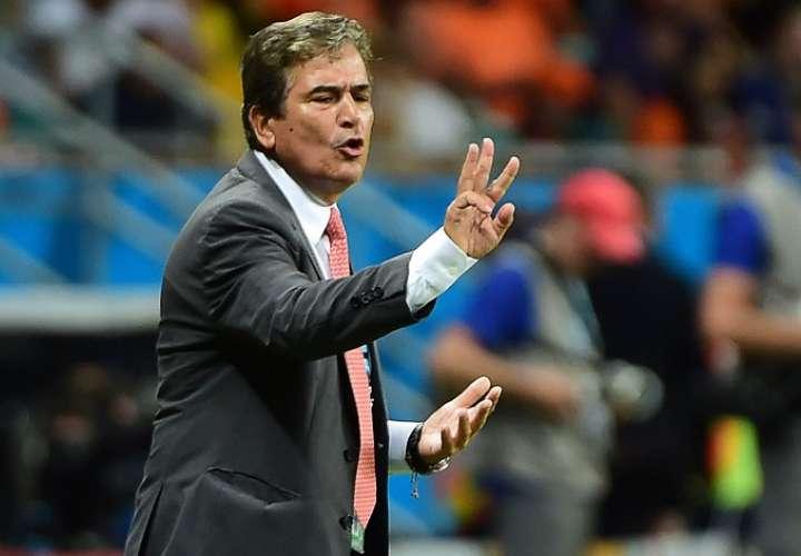 Jorge Luis Pinto, ex técnico de las selecciones de Costa Rica y Honduras./EFE
