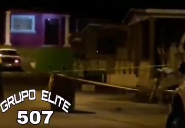 Ataque a tiros en Villa del Caribe, Colón [ Video]
