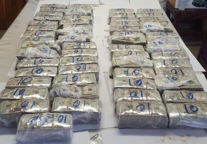 Incautan 162 mil dólares en efectivo a tres panameños en Bugaba