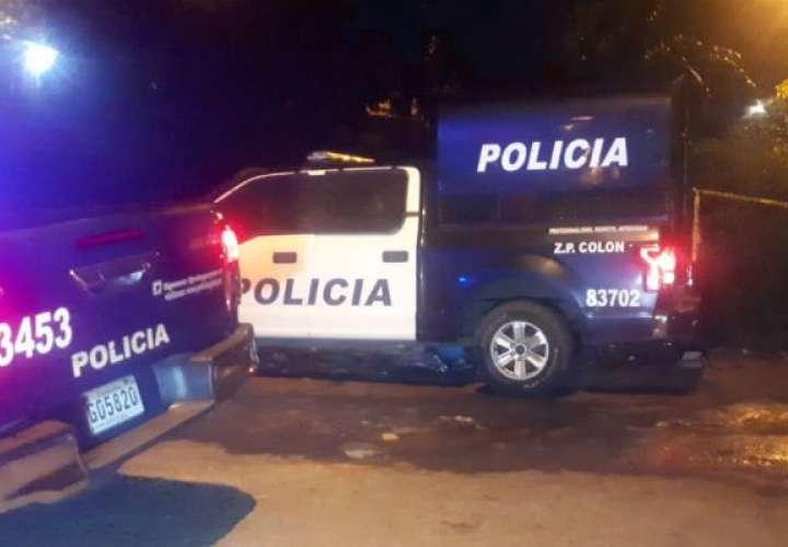 Unidad policial entra en crisis de nervios dentro del cuartel de Colón