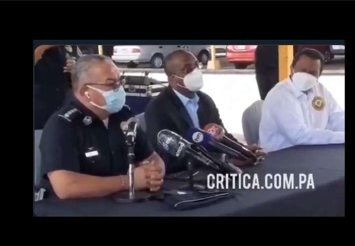 El director de la Policía Nacional, Jorge Miranda detalló los hechos