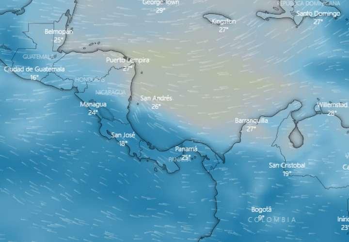 Sinaproc:   Regresa el polvo del Sahara