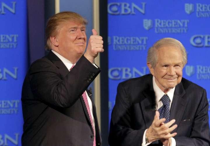 Predicador afirma que Trump ganará, estallará el caos y vendrá el fin de mundo
