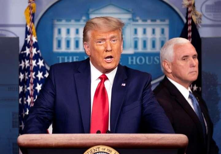 El presidente de EE.UU., Donald J. Trump. Foto: EFE
