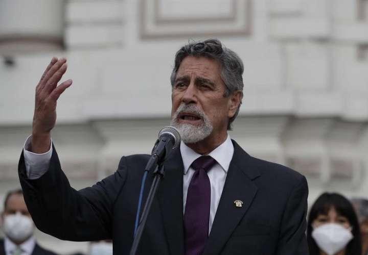 La comisión será liderada por el ministro del Interior, Rubén Vargas, y contará con la participacion de la sociedad civil. EFE