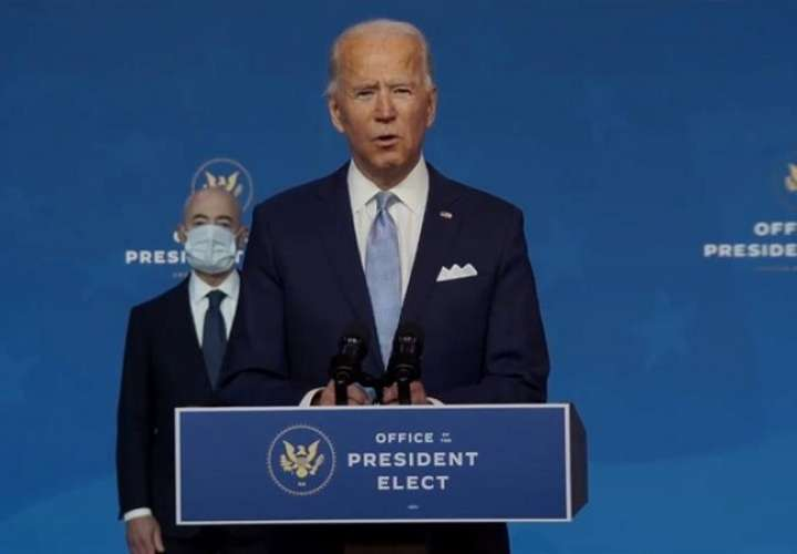 """Joe Biden: """"Estados Unidos está de vuelta"""""""