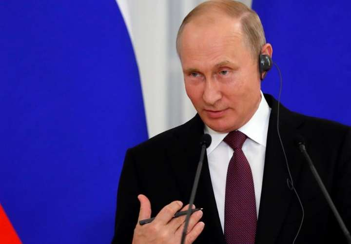 El presidente de Rusia, Vladimir Putin. EFEArchivo