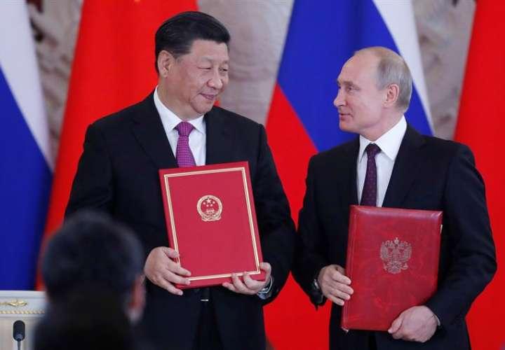 Putin y Xi lanzan contraofensiva contra la guerra comercial de EEUU