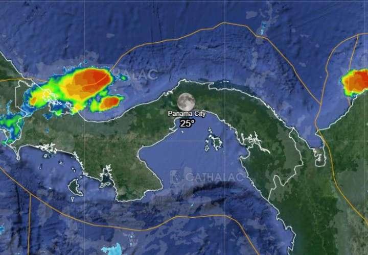 Sinaproc: Lluvias dispersas y tormentas para hoy