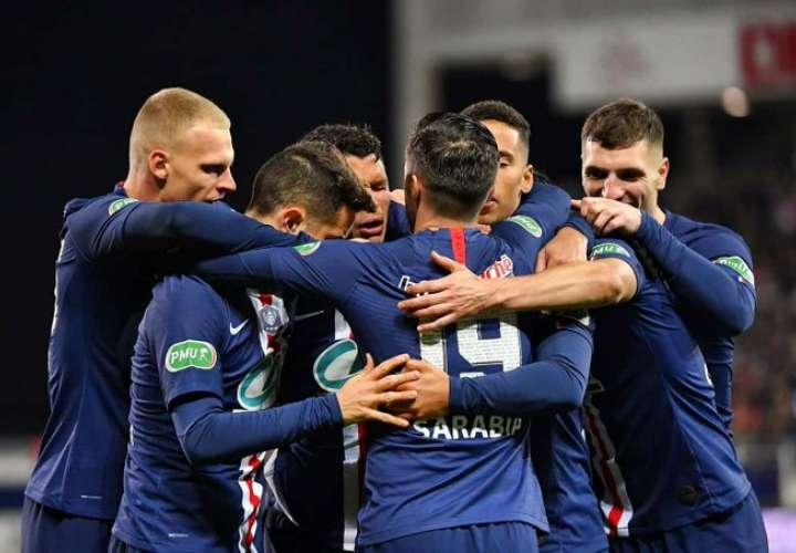 Los jugadores celebran la victoria. Foto: Twitter