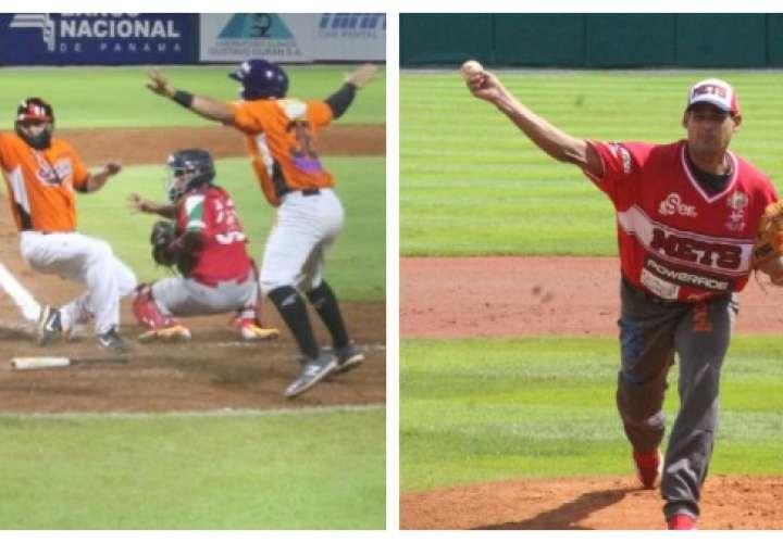 Los Santos y Panamá Metro lideran Nacional de Béisbol Mayor
