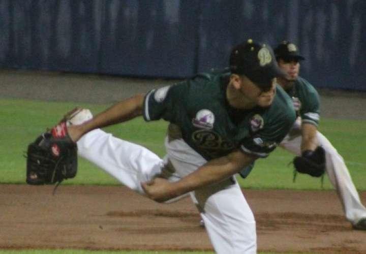 Rafael Rodríguez fue el pitcher ganador por Bocas del Toro. Foto: Fedebeis