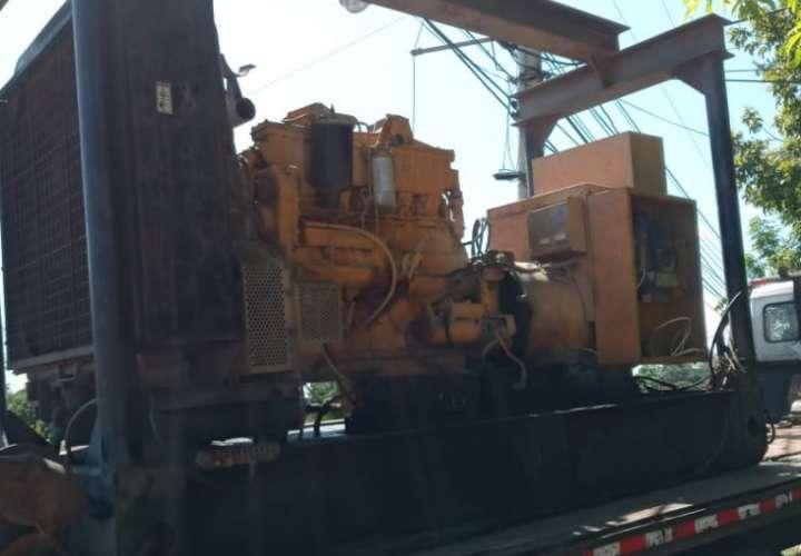 Recuperan en Divisa planta eléctrica que fue hurtada en Vacamonte
