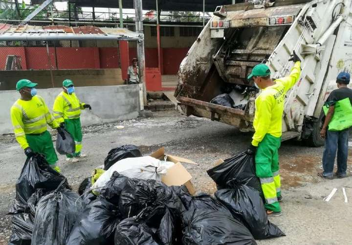 Ser recolector de basura en tiempo de pandemia