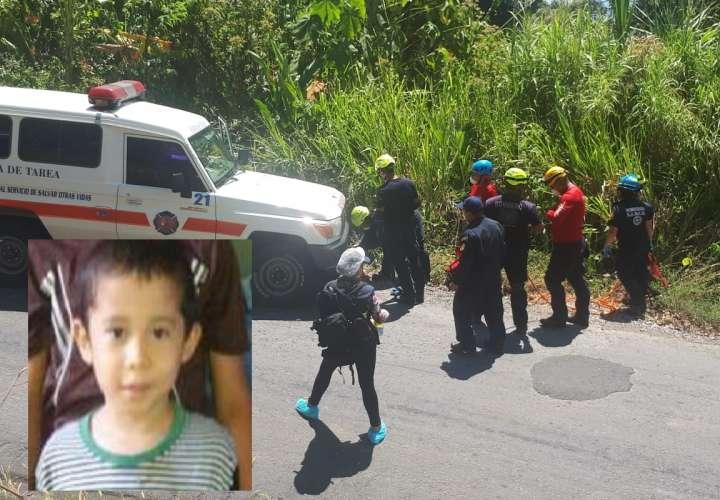 Vista general del área próxima en donde fue ubicado el vehículo accidentado. Foto: Mayra Madrid