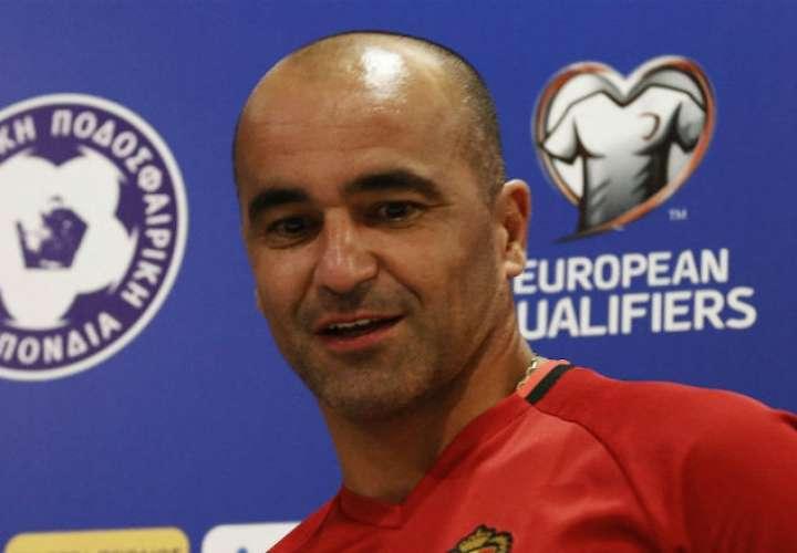 Roberto Martínez está en su primera experiencia como director de una selección.