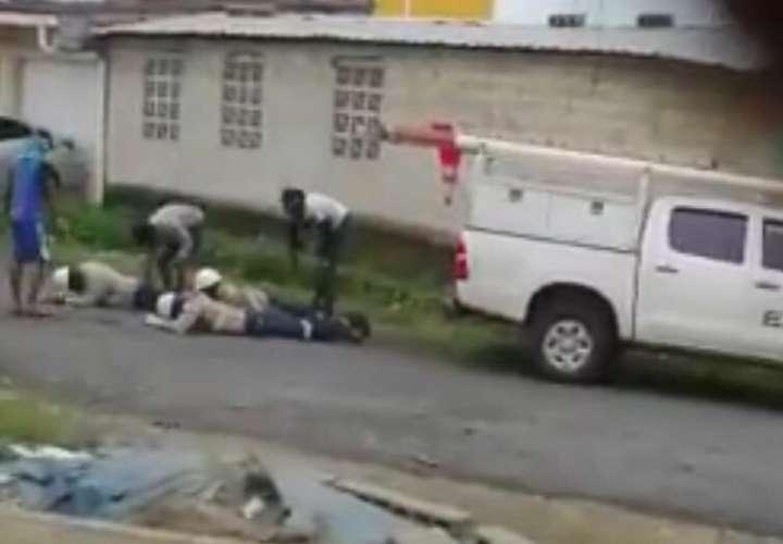 Aprehenden a involucrado en asalto a mano armada a empleados de Ensa en Colón