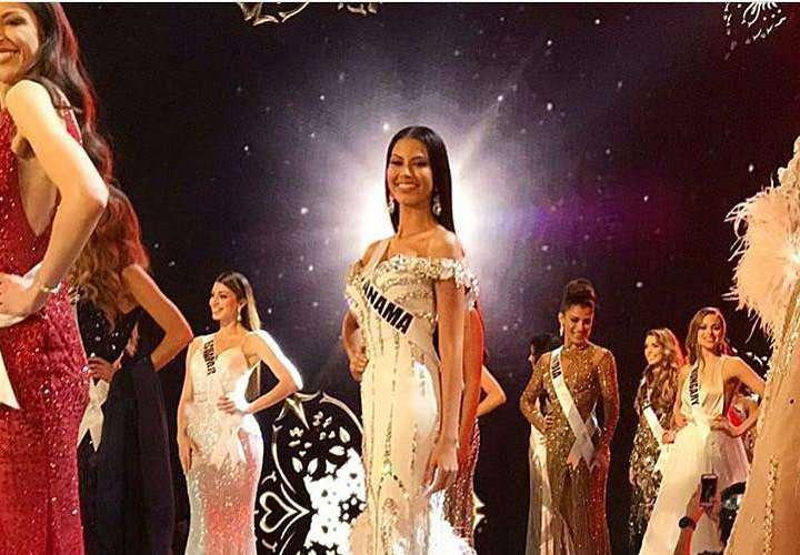 Rosa Iveth Montezuma se muestra imponente en gala preliminar del Miss Universo