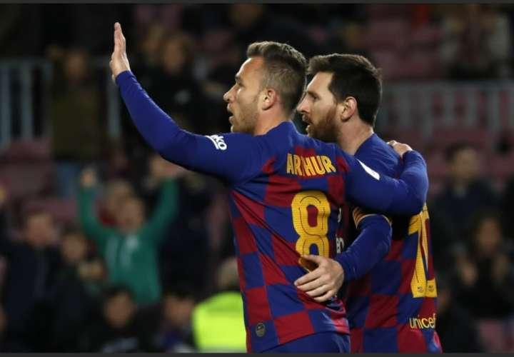 Lionel Messi brilló en su última presentación. /AP