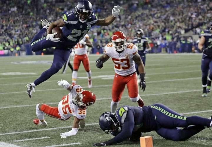 Seahawks aseguran pase a los playoffs de la NFL