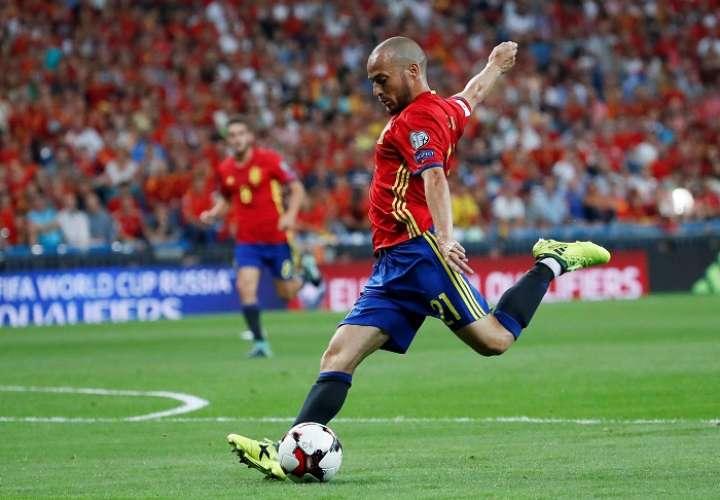 David Silva anunció su adiós a la selección española de fútbol tras 125 partidos como internacional./EFE