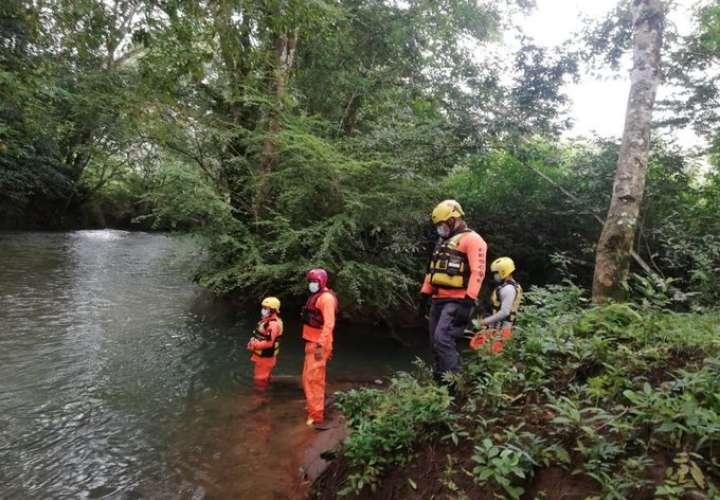 Buscan a mujer de 74 años que cayó al río Chiriquí Viejo