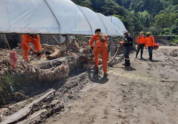 Tierras Altas trata de volver a la normalidad tras daños causados por Eta