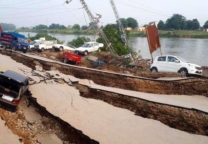 Sismo de 5.8 sacude Pakistán y deja cuatro muertos