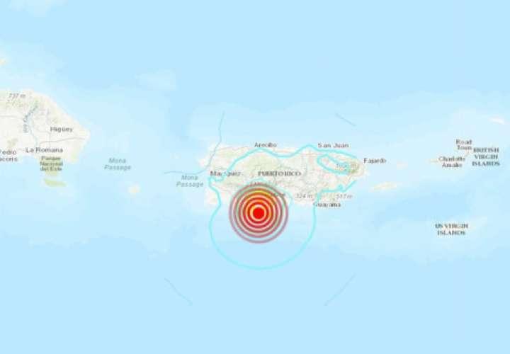 Sismo sacude el sur de Puerto Rico, hay algunos daños