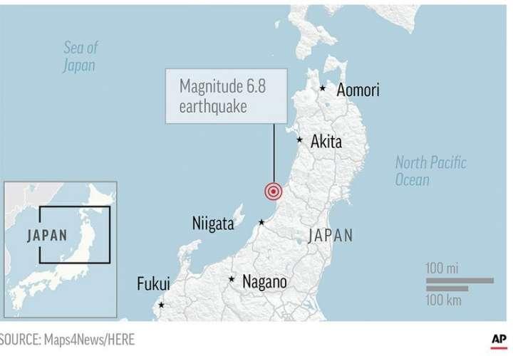 Fuerte terremoto castiga el noroeste de Japón (Video)