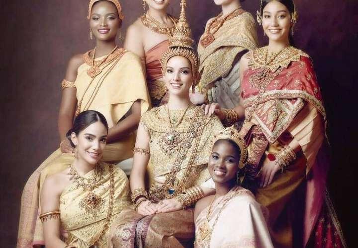 ¡Hermosa! Solaris Barba se luce al vestirse con el atuendo típico tailandés