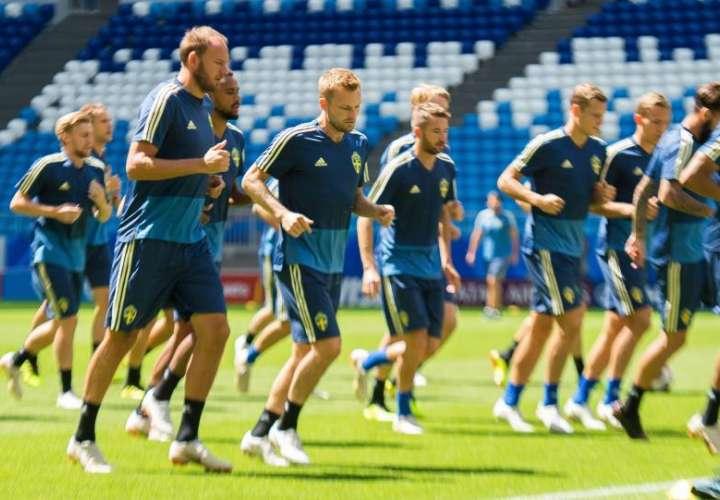 El Samara Arena acogera el partido de cuartos de final de Suecia-Inglaterra. Foto EFE