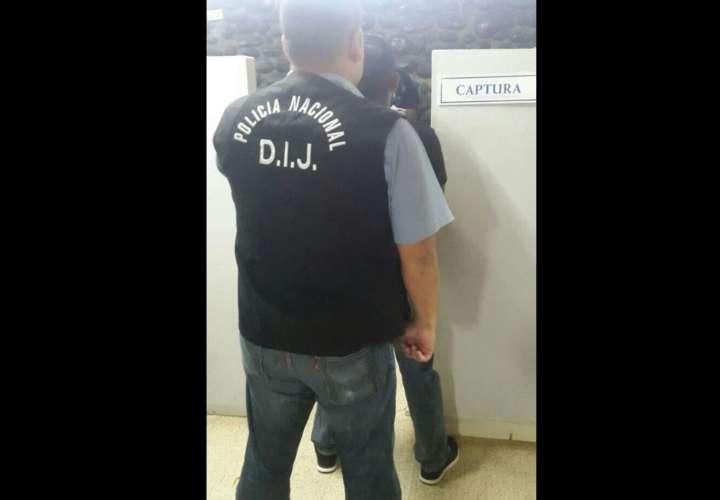 Imagen del condenado cuando fue aprehendido. Foto: Mayra Madrid